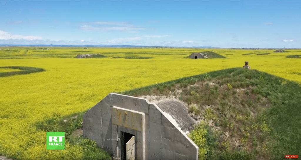 un véritable champs de bunkers