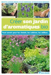 livre créer son jardin d'aromatiques bio