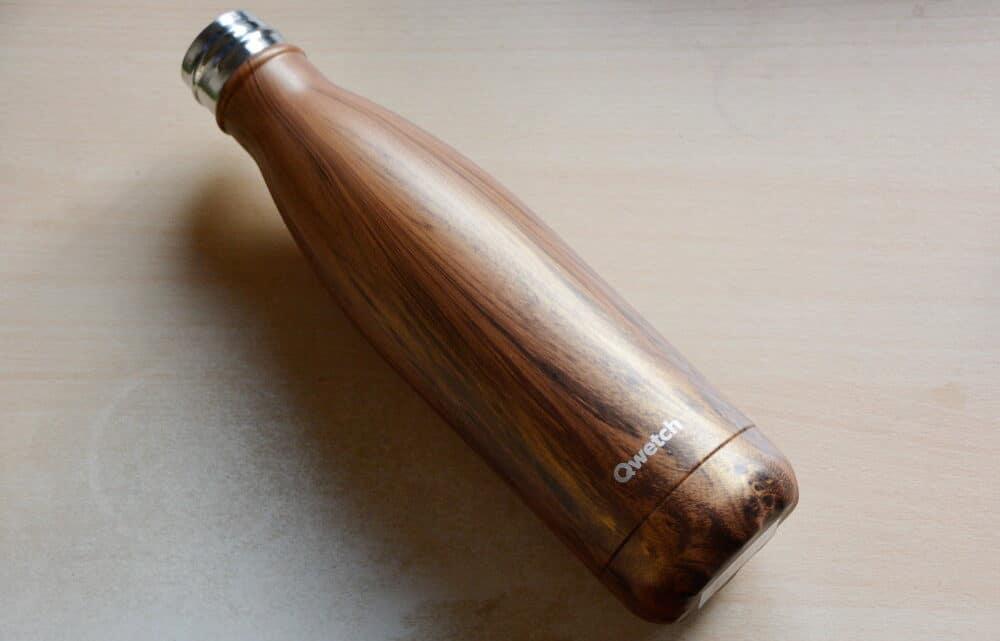 En test : une bouteille isotherme de chez Qwetch