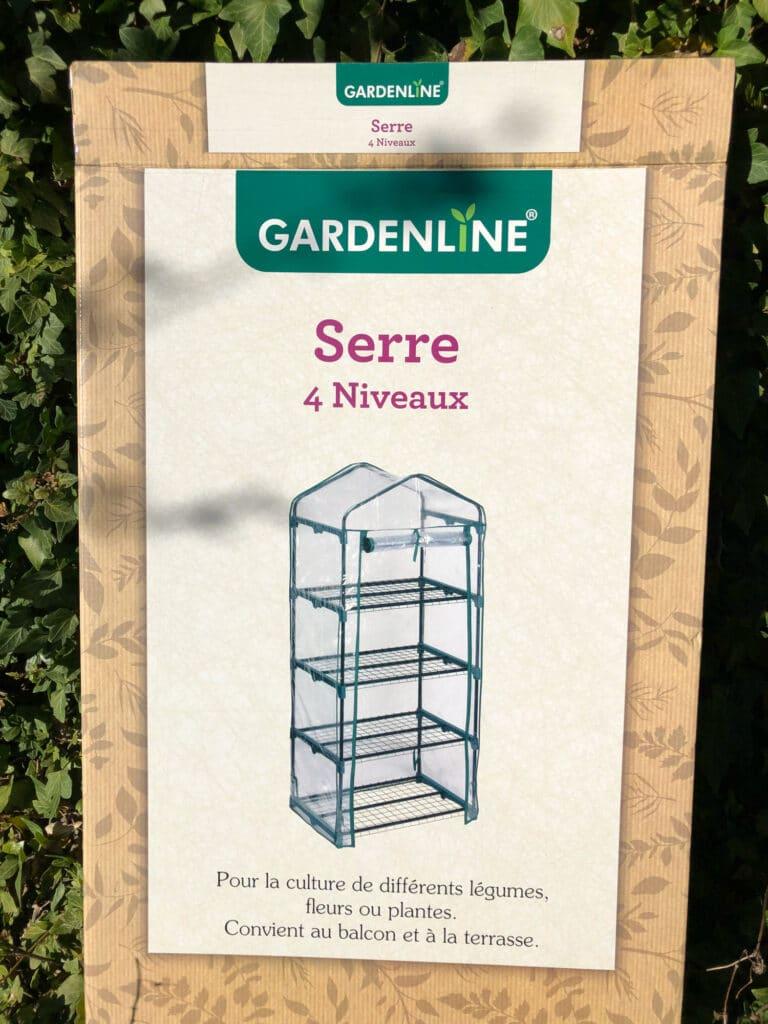 carton mini serre gardenline